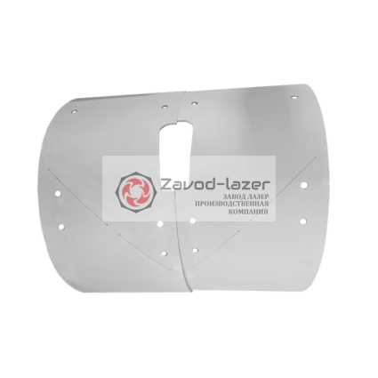 Комплект Брони  для пневмонагнетателя BMS Worker (2 пластины) арт.D520